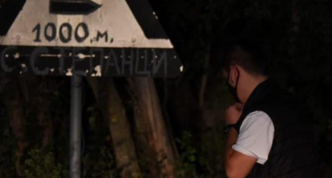 ФОТО: Новинарот Фуркан на лице место каде дрвоkpадците се cooчиле со полицијата во село Степанци