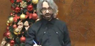 ВИДЕО: Апасиев им одржа предавање по право во амфитеатарот на Собранието на Р.Македонија