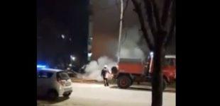 ВИДЕО: Вечерва пожарникарите и полицијата гасеа оган по дојава од граѓани