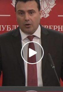 ФОТО: Премиерот Заев ги објави новите мерки, сите ќе мора да ги почитуваат до 20 април