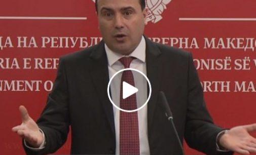 Со видео се огласи Заев за пописот: Да бидеме одговорни сите