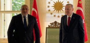 ФОТО: То е то, Бојко се слика со Ердоган без бугарско знаме, Џамбаски се наљути