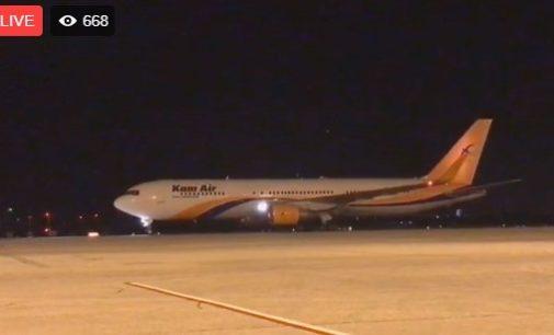 ВИДЕО: Вечерва слета авионот со првата група авганистанци, проследете го слетувањето