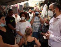 ВИДЕО: Народен човек, го посети пазарот во Драчево, стари тезги, кров што прокапува на сите страни, граѓаните ги раскажаа маките