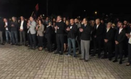ФОТО: Погледнете колку народ има митингот на ВМРО-ДПМНЕ во Виница и Кочани