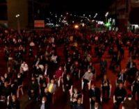 ФОТО: Погледнете колку граѓани се собраа на митингот на СДСМ во Струмица вечерва
