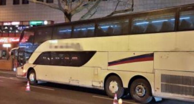 ФОТО: Полицијата сопре автобус на два ката и се пофали на твитер: Спремен е за во отпад