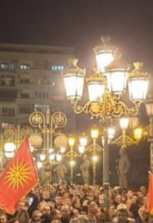 Мицкоски со порака од протестот: Заев ќе изгубиш, тоа го знаеш – ќе изубиш силно и јако од народот