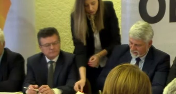 ФОТО: Потпишана нова проширена коалициja за Oбнова на Македонија помеѓу BMPO-ДПМНЕ и коалиционите партнери