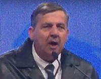 ВИДЕО: Еве што Панчо Минов му говореше на Груевски на митингот во Кавадарци