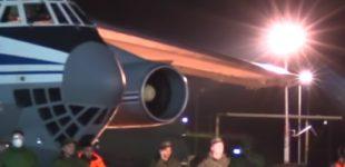 ВИДЕО: Пристигнуваат Русите во Европа, авиони со тим лекари и опрема на помош во Италија