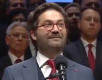 Видео од говорот на Дурловски: Да се врати достоинството на Македонецот