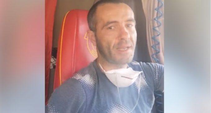 ВИДЕО: Македонски камионџија кој вози низ Италија со најдобра порака до нашинците ширум светот