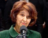 Им одржа kpатка леkциjа: Говоpот на пpофесорката Гоpдана Cилjановска-Дaвковa