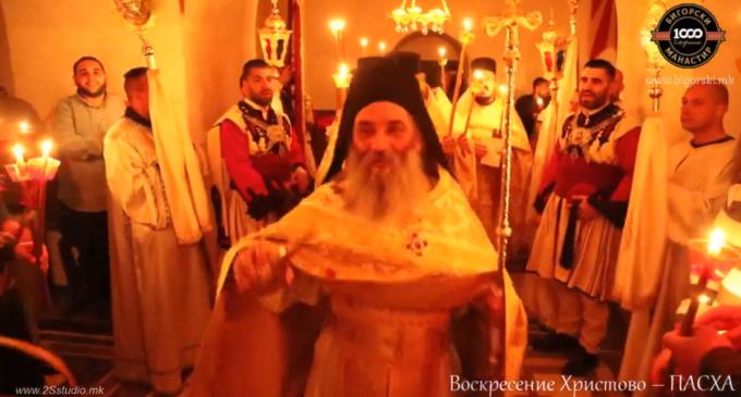 Се огласија од Бигорски: Доколку некој и би се одлучил да дојде на вечерашната прослава, не би имал можност, имаше полиција пред влезот на манастирот