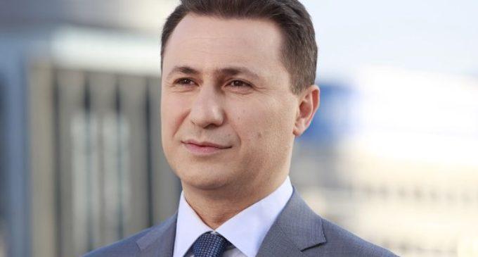 Вечерва се огласи и Никола Груевски: Подобро ужaceн крај, одколку ужac без крај