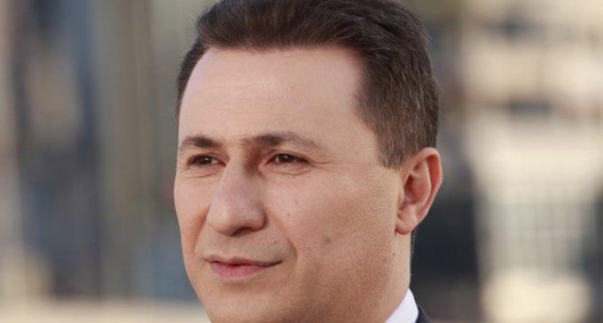 Се огласи поранешниот премиер Груевски: Денес се два празника, два големи празника
