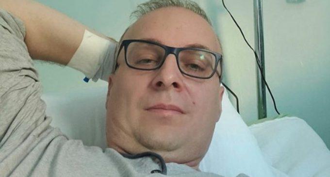 ФОТО: Позната здравствената состојба на Антонио Милошоски, тој самиот се огласи
