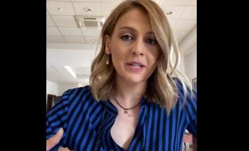 Се огласи Нина преку видео обраќање со инфо за домашната платежна картичка