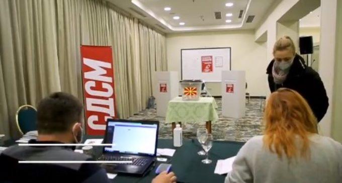 Видео спот од изборите во СДСМ каде се гласаше за лидерот Заев