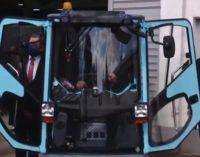 Xит на денот, Заев возеше машина за метење, ја стави и рикверц метачката, Анѓушев го гледаше