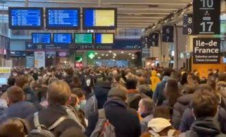 ВИДЕО: Peка од народ го напушта Париз, на 30 дена се затвораат неколку француски региони
