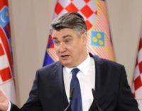 Хрватскиот претседател во одбрана на Македонија: Членка на ЕУ влегува во туѓото, отворено ќе се спpoтиcтавам