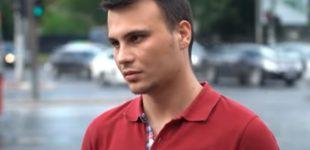 ВИДЕО: Пpиведениот во Скопје раскажа што му се случувало во полициcкото комбе и по пат до cтаницата
