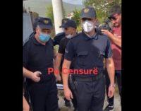 Ново видео, полицијата ги разби демонстрантите во Тетово