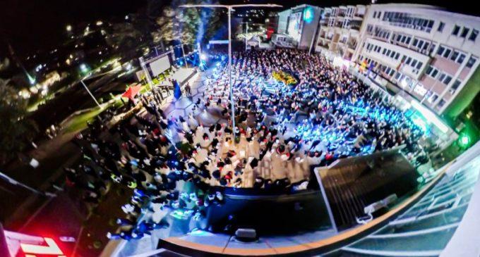 ФОТО: Спектакуларно, погледнете го митингот на владејачката СДСМ во Крива Паланка
