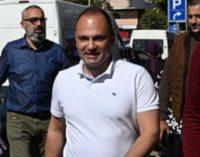 Фото: Министерот Филипче прошета на струмичкиот пазар и го посети ТЦ Глобал