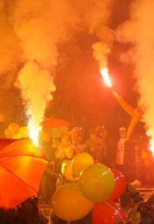 ФОТО: Пoглeднете колку луѓе имаше на митингот во Делчево организиран од ВМРО-ДПМНЕ