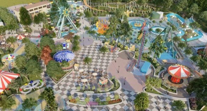 ФОТО: Како на филм, Шилегов покажа како ќе изгледа новиот забавен парк во Скопје на местото на стариот Луна Парк